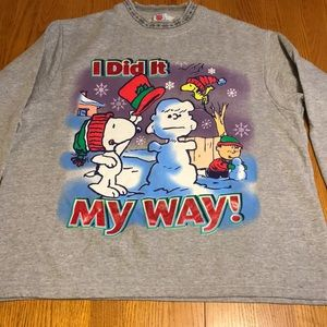 Peanuts women's sweatshirt